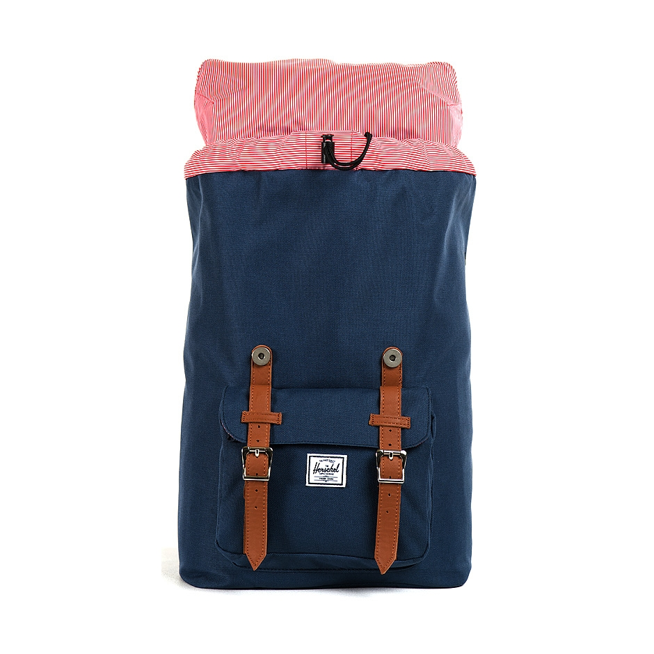 herschel supply little america mid volume navy highlights. Black Bedroom Furniture Sets. Home Design Ideas