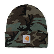 Carhartt Camo Evergreen Beanie, Camo Evergreen