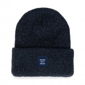 Herschel Supply Abbot Beanie, Navy Reflective