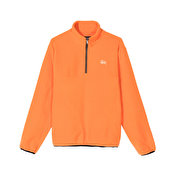 Stussy Basic Polar Fleece Mock, Orange
