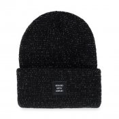 Herschel Supply Abbot Beanie, Black Reflective