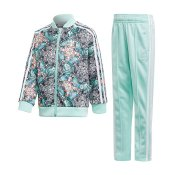 Adidas Originals Kids L ZOO SST Track suit, Multi Clem