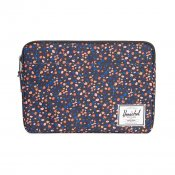 Herschel Supply Anchor Laptop Sleeve, Black Mini Floral