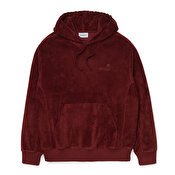 Carhartt Hooded United Script Sweat, Bordeaux