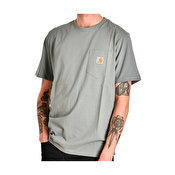 Carhartt S/S Pocket T-Shirt, Cloudy