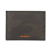 Carhartt Coated Card Holder, Camo Evergreen Brick Ora