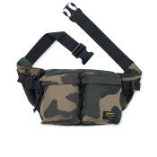 Carhartt Military Hip Bag, Camo Laurel Black