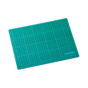Transotype Cutting Mat Black/Green, A4