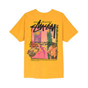 Stussy Daydream Pig. Dyed Tee, Mustard