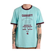 Carhartt S/S Ringer 1889 Tee, Window/Shiraz