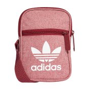 Adidas Originals Trefoil Festival Bag, Burgundy