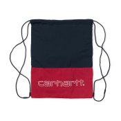 Carhartt Terrace Drawstring Bag, Cardinal Dark Navy White