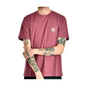 Carhartt S/S Pocket T-Shirt, Dusty Fuchsia