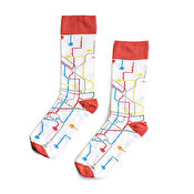MTN Socks Metro, White