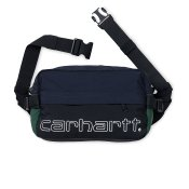 Carhartt Terrace Hip Bag, Black Dark Navy Bottle Green
