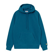 Carhartt Hooded Chase Sweat, Corse/Gold