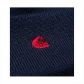 Carhartt Madison Beanie, Blue Blast Red