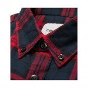 Carhartt LS Norton Shirt, Navy Alabama