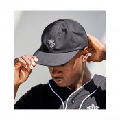 The Quiet Life Ripstop Shhh Polo Hat, Black