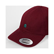 Carhartt Madison Logo Cap, Merlot Dark Fir