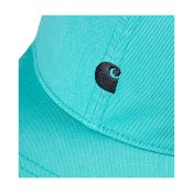Carhartt Madison Logo Cap, Soft Aloe Dark Navy