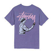 Stussy Painter Pig Dyed T-shirt, Purple