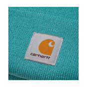 Carhartt Acrylic Watch Hat, Frosted Turquoise