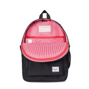 Herschel Supply Heritage Youth, Black Black Rubber