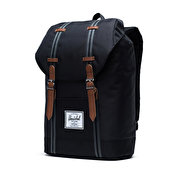 Herschel Supply Retreat, Black/Black/Tan