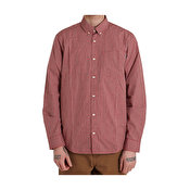 Carhartt L/S Alistair Shirt, Alistair Check, Etna Red