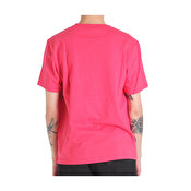 Parra in a void t-shirt, Coral red