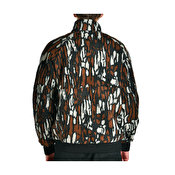 Stussy Tree Bark Fleece Jacket, Brown