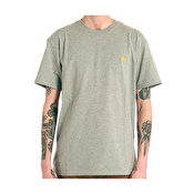Carhartt S/S Chase Tee, Grey Heather/Gold