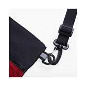 Carhartt Dexter Strap Bag, Black Blast Red