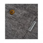 Carhartt LS Cram Shirt, Dark Grey Heather