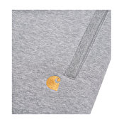 Carhartt Chase Sweat Short, Grey Heather/Gold