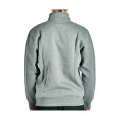 Carhartt Chase Neck Zip Sweat, Dark Grey Heather Gold