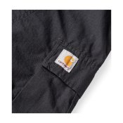 Carhartt Regular Cargo Pant, Black Rinsed