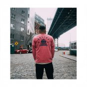 Belief Queensboro LS Pocket Tee, Brick