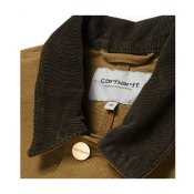 Carhartt Michigan Chore Coat, Hamilton Brown Rinsed