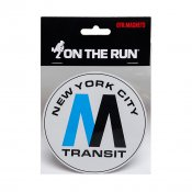 OTR.Magnet NYC MTA Logo, Medium