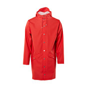Rains Long Jacket, Red