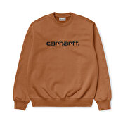Carhartt Sweat, Rum/Black