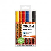 Molotow ONE4ALL 127HS Basic-Set 1, 6-set