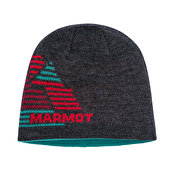 Marmot Novelty Reversible Beanie, Dark Grey Heather