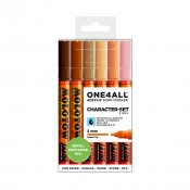 Molotow ONE4ALL 127HS Character-Set, 6-set