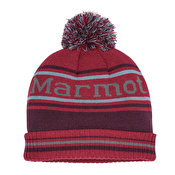 Marmot Retro Pom Hat, Brick/Fig