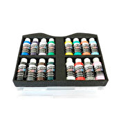 Createx Airbrush Colors Opaque Beginners Case