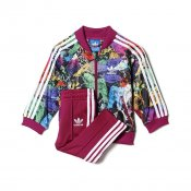 Adidas Kids Animal SST Track Suit, Multi