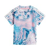 Adidas Originals Kids Marble Tee, Multicolor